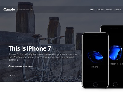 Daily UI #072 — Image Slider kit hero slider daily ux ui dailyui