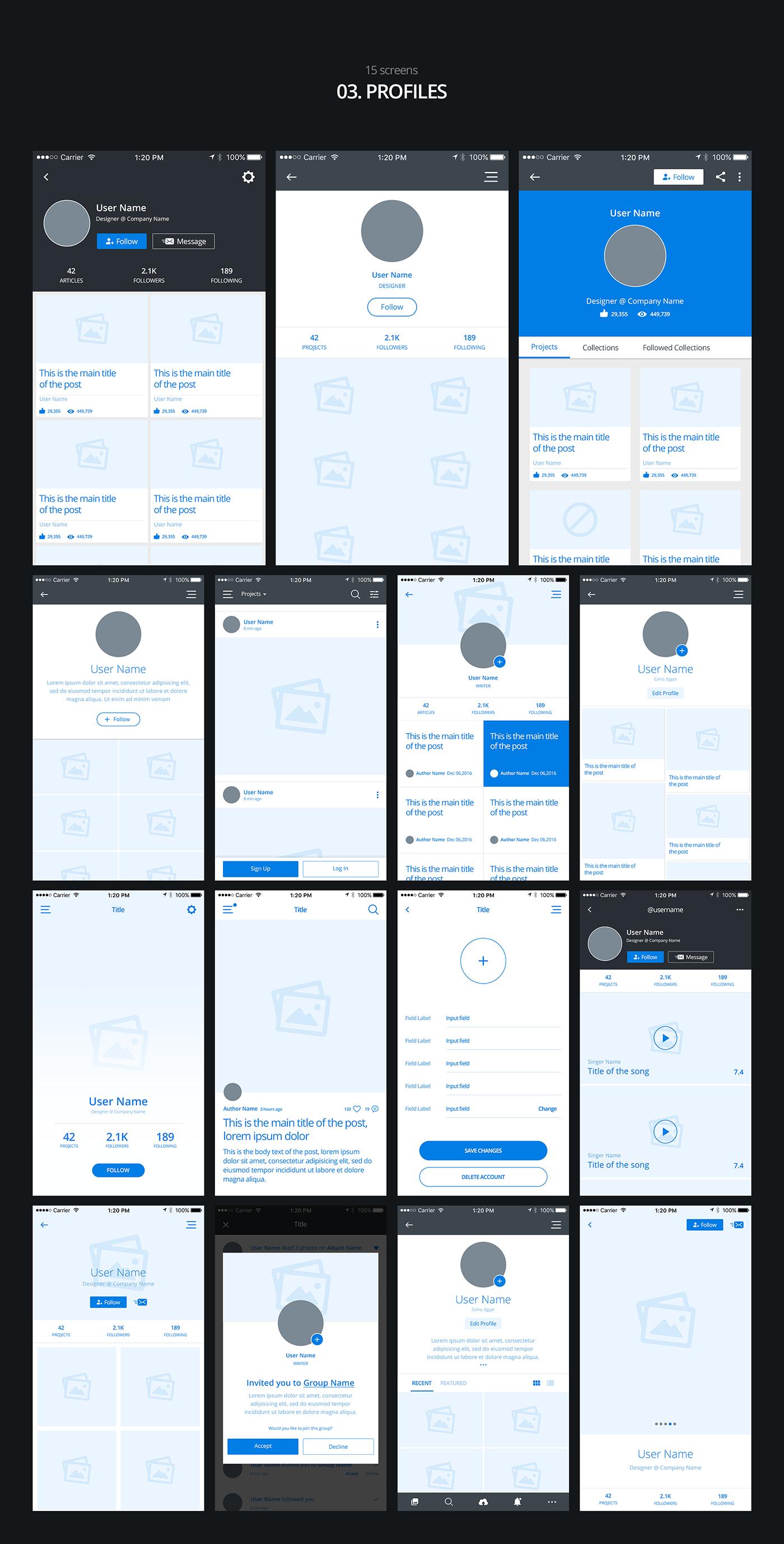 03 profiles