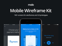 molo Mobile Wireframe Kit - CreativesCastle