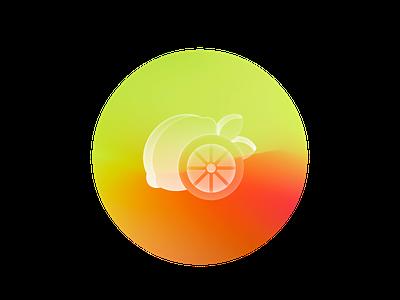 Glass lemon art vibrant translucent lemon ux ui illustrator glassmorphic glassmorphism glass icon set icon logo illustration branding graphic design