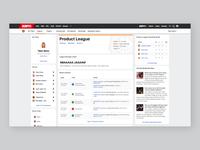ESPN Fantasy Basketball Web Redesign