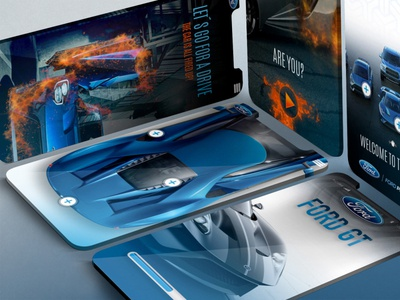 Ford GT App design mock-up adobe photoshop mobile app design mobile app mobile car ford icon app branding video aftereffects ui mockup ux user experience animation