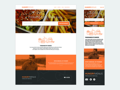 Online Food Ordering Landing Page (In Progress)