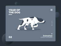 Year of the dog (Dalmatian)