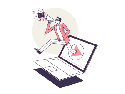 Explainer Video Guide Blog Illustration