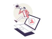 Explainer Video Guide Blog Illustration