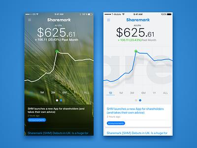Stocks App trading stocks shares