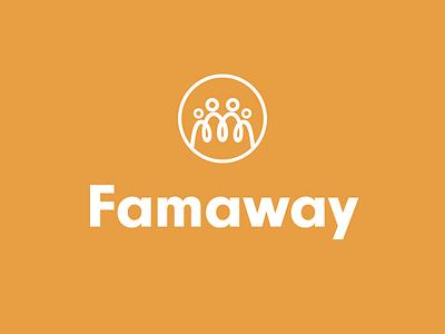 Travel logo for families friendly logo keyline