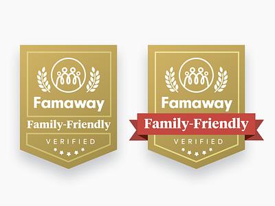 Famaway Verified branding badge verified