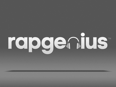 Rap Genius branding hip hop logo tech startup y combinator fresh