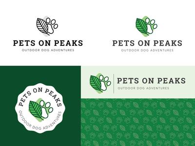 Pets On Peaks Branding