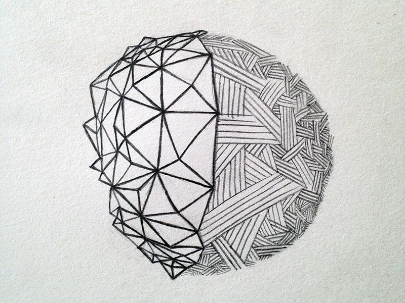 Sketch bipolar planet