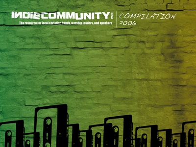 CD Album Art / Indie Community Compilation 2006 print cd cover
