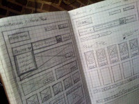 A little ecommerce wireframing