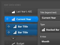 Chart/graph data editor