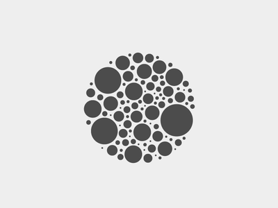 Logo Concept: Circle of dots logo icon dots circles synergy