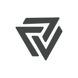 Paris Vega Media Logo Icon seven spiral swirl penrose triangle penrose design pattern minimalist vector lines icons illustration typography favicon icon branding logo design logo