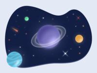 Tiny Corner Of The Galaxy