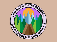 Granola Badge