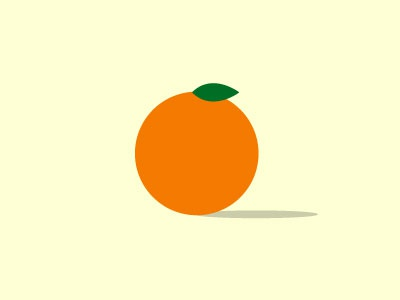 orange fruit orange vector illustration abstract