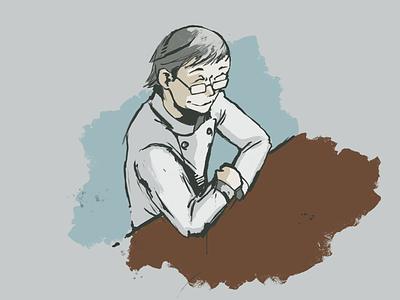 A little end of day illustration based on some older manga digital painting painting procreateapp illustration