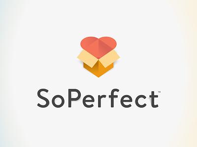 SoPerfect Logo logo love app brand thoughtbot