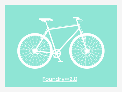Foundry∞2.0 Is Coming design flat vector illustration free