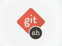 Gitsh Logos Dribbble