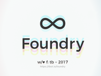Foundry ∞ open source svg logo