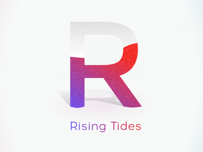 Rising Tides gradient logo