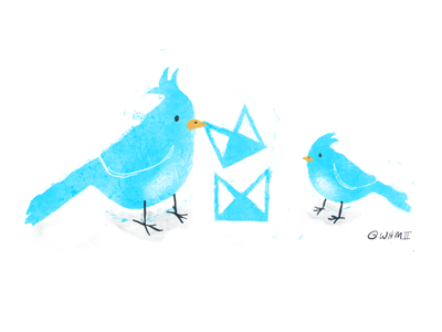 Nesting grids with Neat 2 birds open source illustration code