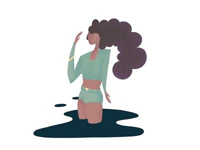 Simple character illustration tech digital painting character painting procreateapp illustration