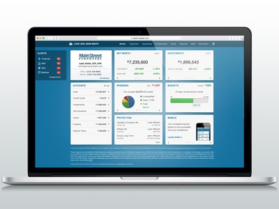 Client Site Dashboard