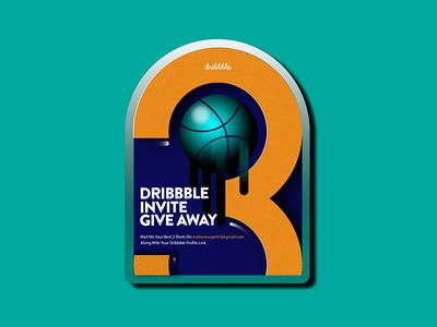3x Dribbble Invite