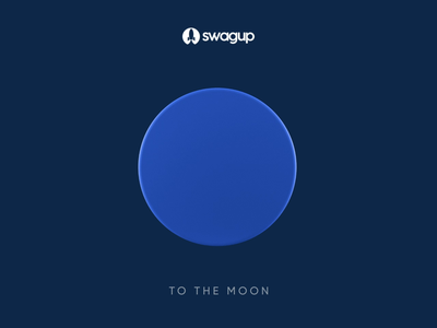 SwagUp - To the moon tothemoon swagup rocket 3d rocket 3d rocket 3d logo animation 3d animation swag for startup swag pack rocket animation logo animation