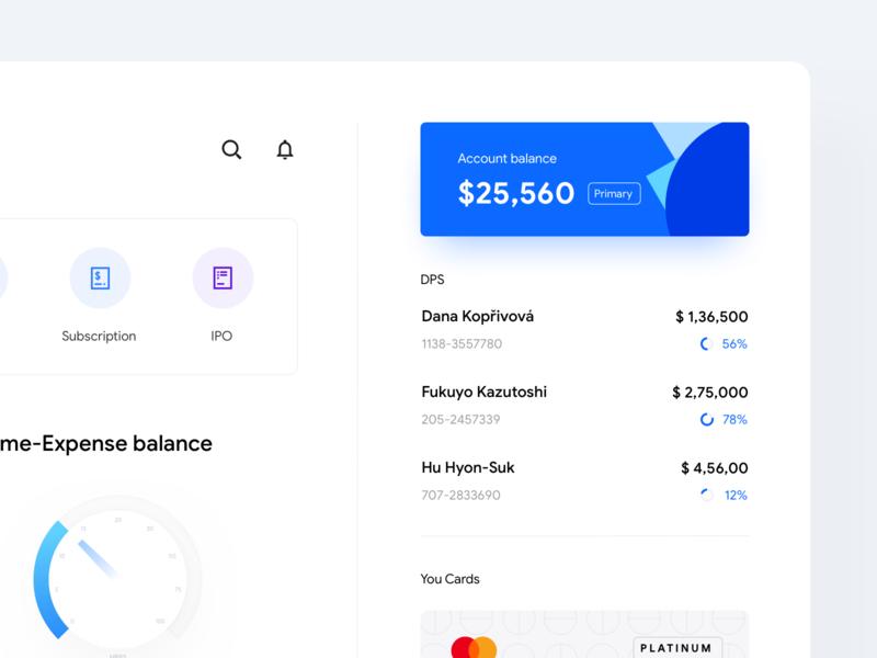 Internet Banking Dashboard - WIP