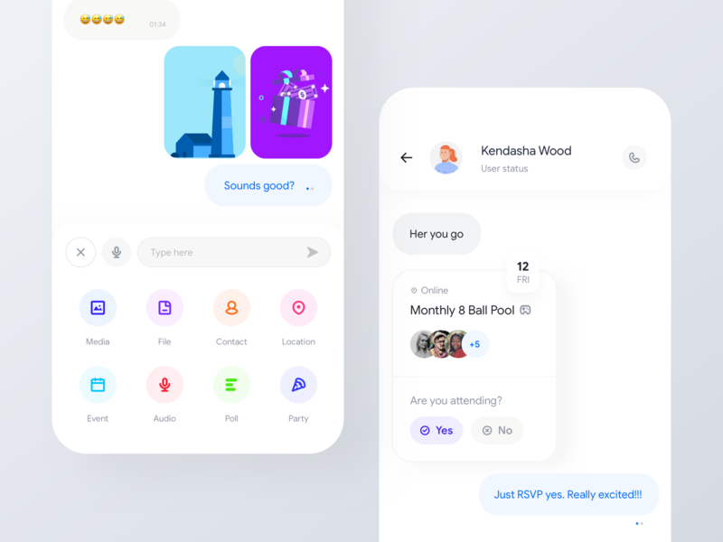 Adding more - Messaging app