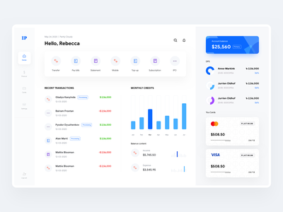 Bank Statement Designs Themes Templates And Downloadable Graphic Elements On Dribbble