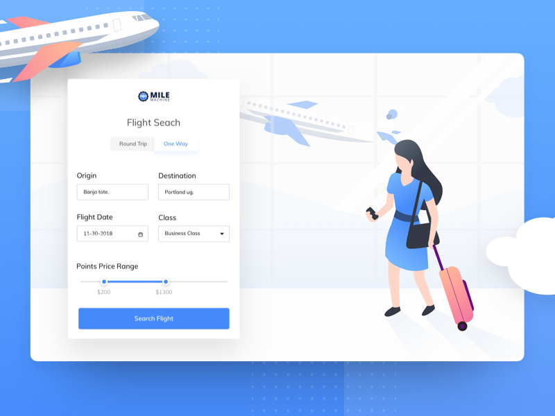 flight search app ui by shojol islam for flatastic on dribbble