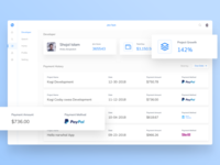 Developer Payment History Dashboard