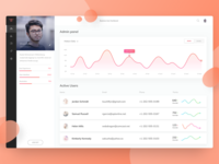 User-admin Dashboard | Lite version