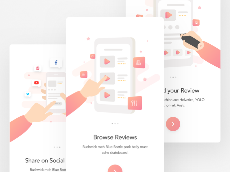 Review dribbble