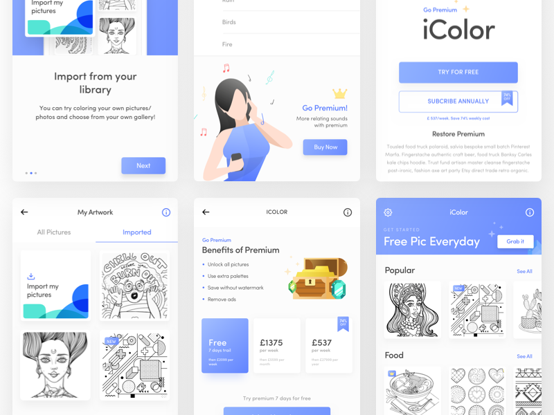 Final Preview | iColor App for IOS
