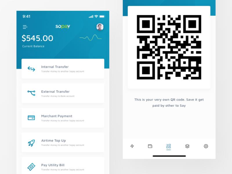 Payment App UI by Shojol Islam on Dribbble