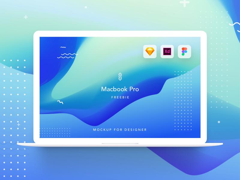 Freebie | Mackbook Pro mockup | XD Sketch and Figma sketch symbol figma xd mockup sketch mockup mackbook pro mockup mackbook mockup freebie free mockup