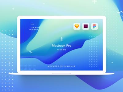 Freebie | Mackbook Pro mockup | XD Sketch and Figma