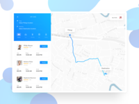Multiple ride sharing option UI | UI exploration