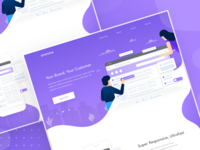 Customer engage platform | Web landing page