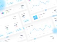 UI elements for Dashboard design