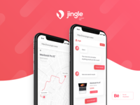 Jingle Market | App design project on Behance